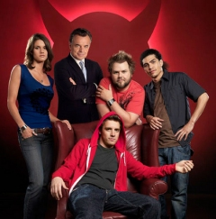 The cast of Reaper.
