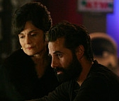 Nathan and Angela Petrelli.